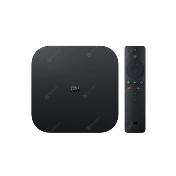 italiaunix-Xiaomi Mi TV Box S EU Plug IPTV Set top Box Media Player  Gearbest