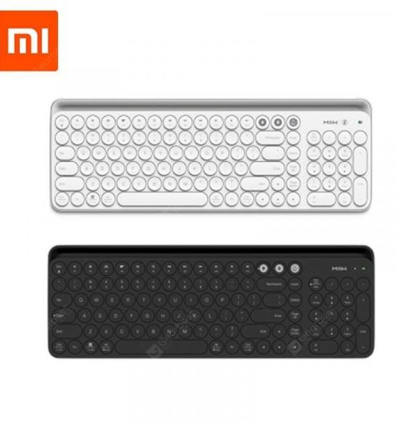 italiaunix-Xiaomi Miiiw Bluetooth dual mode keyboard wireless connection104 Keys Multi system compatible mijia  Gearbest