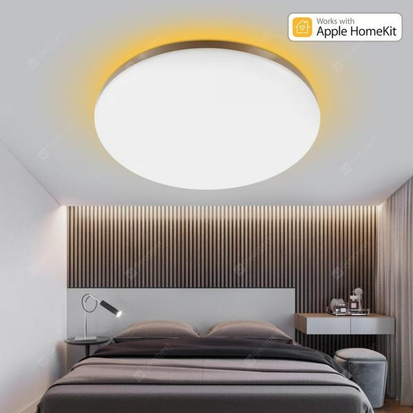 italiaunix-YEELIGHT GUANGCAN YLXD50YL 220V 50W Surrounding Ambient Lighting LED Ceiling Light Upgrade Version (Xiaomi Ecosystem Product)  Gearbest